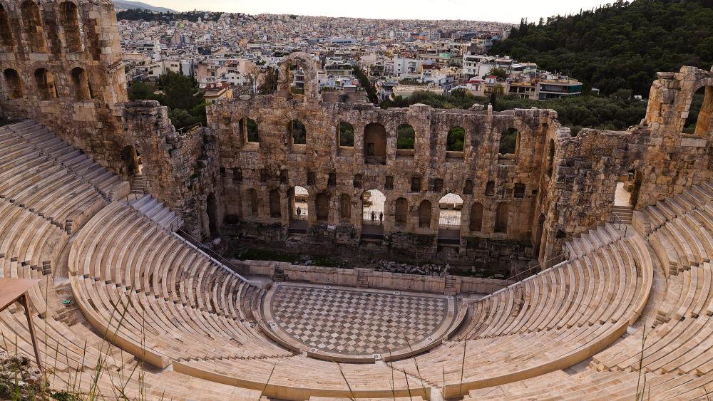 Фото: Одеон Герода Аттика, Афины, Греция