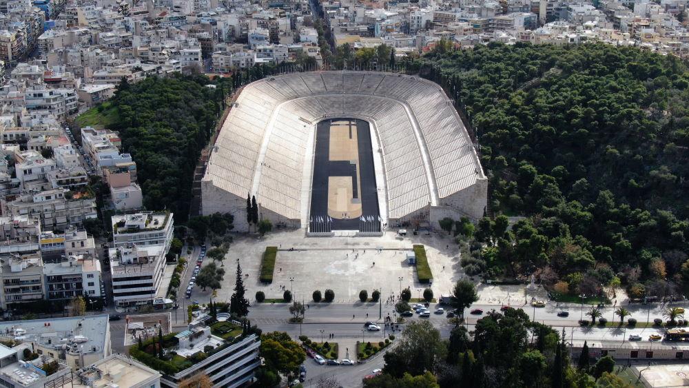 Фото: Стадион Панатинаикос, Афины, Греция