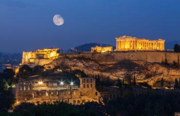 Фото: Красивые достопримечательности Афин
