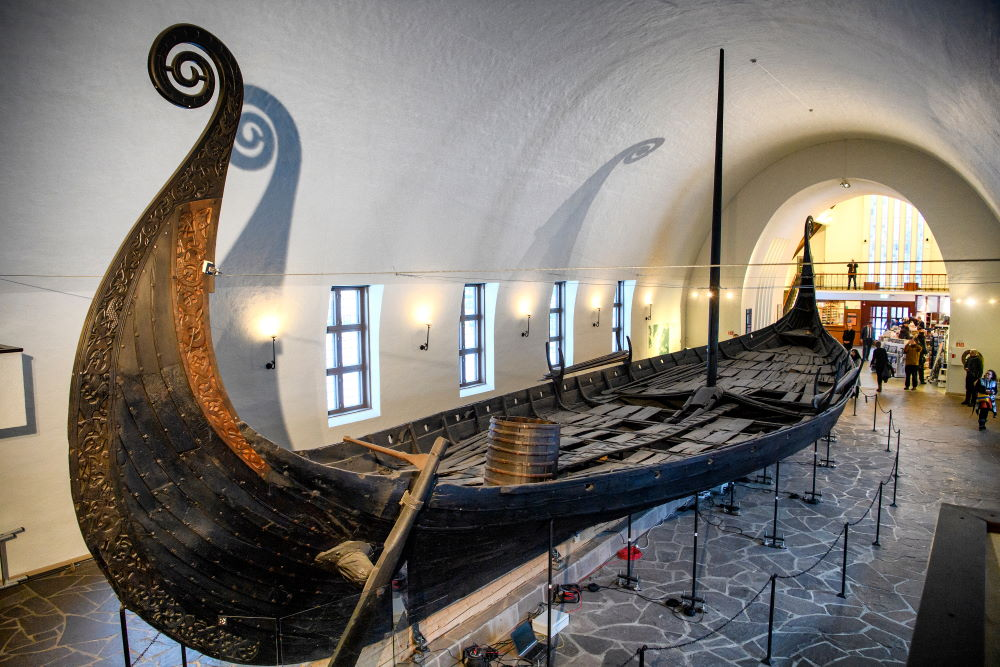 Фото: Музей кораблей викингов, Осло, Норвегия