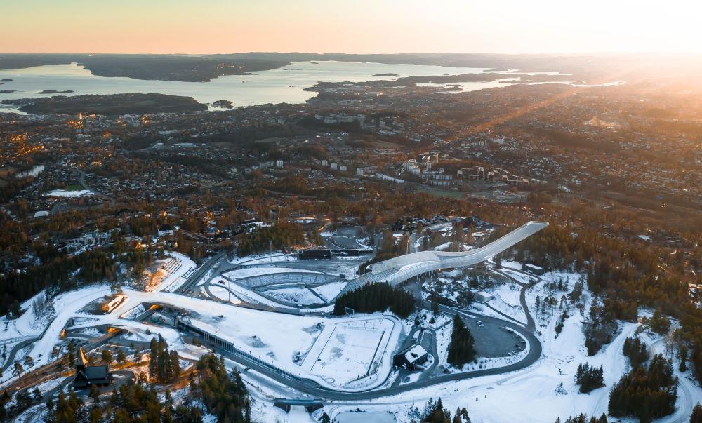 Фото: Лыжный музей Хольменколлен в Осло