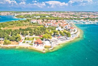 Задар: топ лучших пляжей в Хорватии