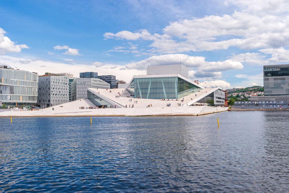 Фото: Оперный театр Осло, Норвегия