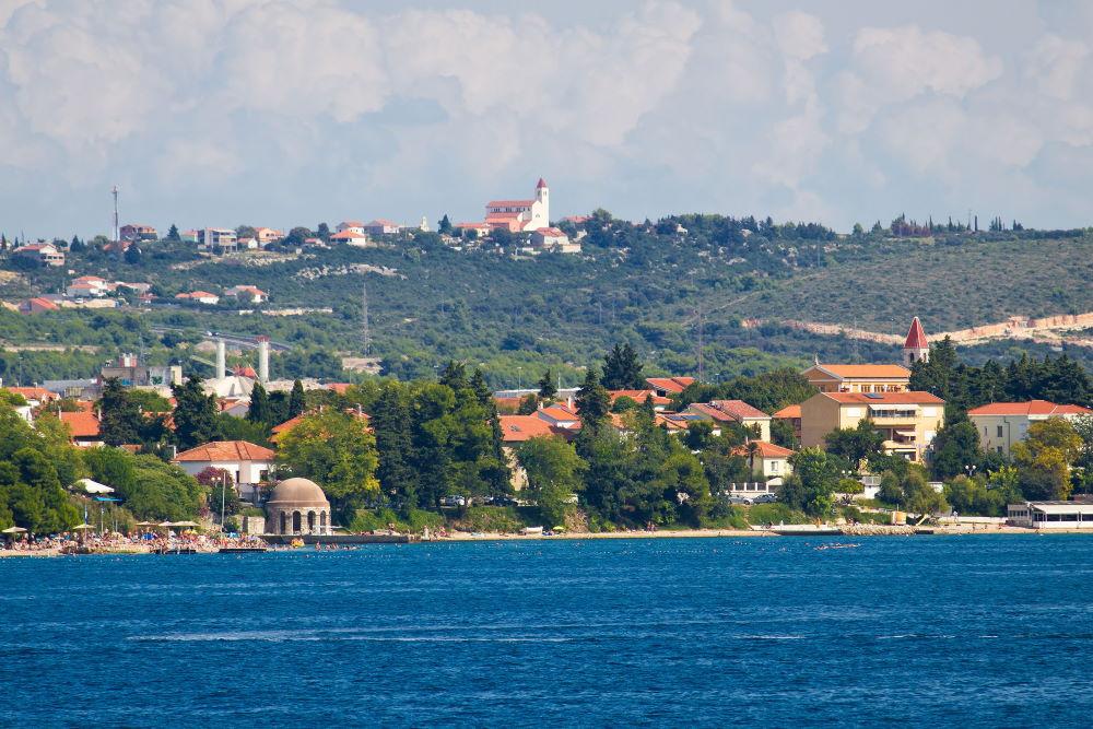 Фото: Пляж Коловар, Задар, Хорватия