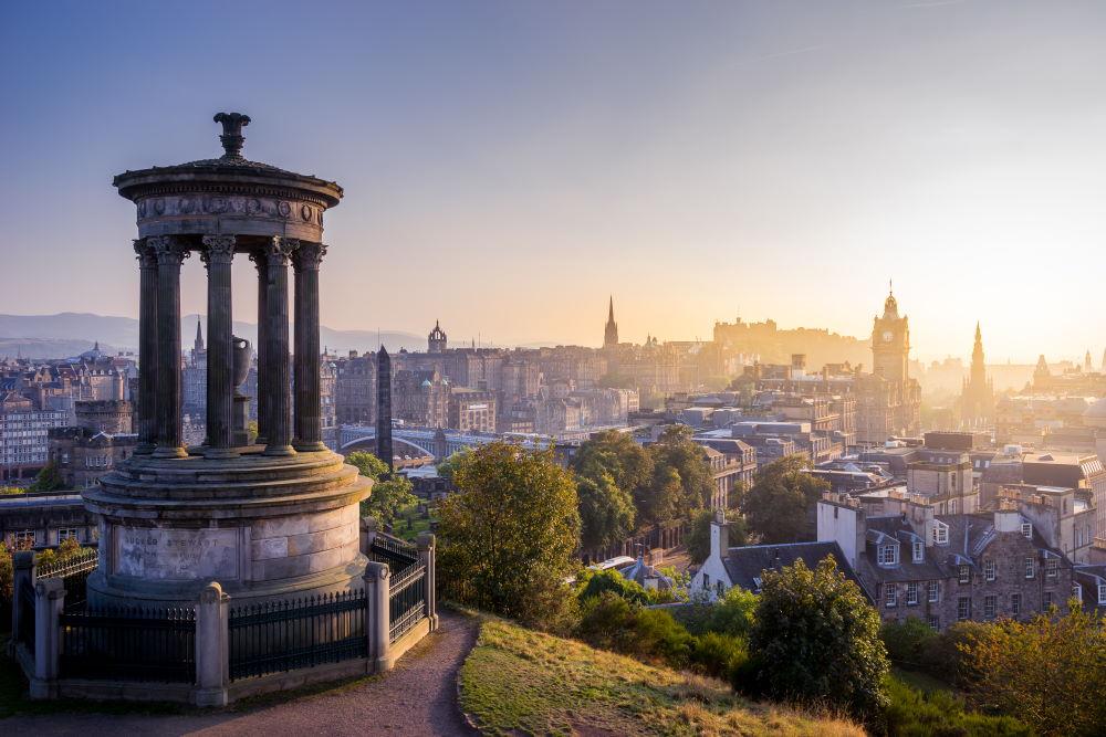 Фото: Калтон Хилл, Эдинбург