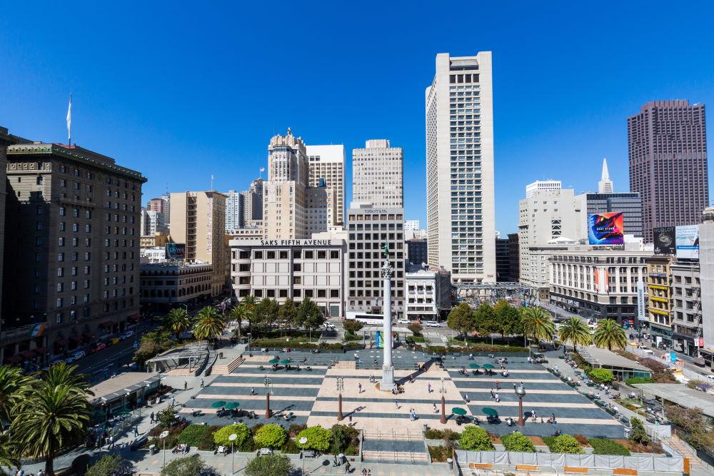 Фото: Юнион-сквер, Сан-Франциско