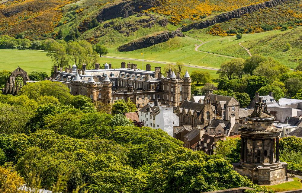 Фото: Холирудский дворец, Эдинбург