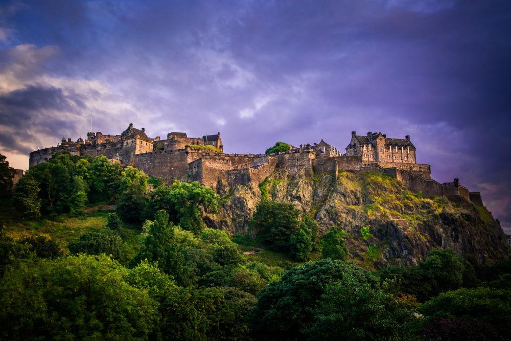 Фото: Эдинбургский замок
