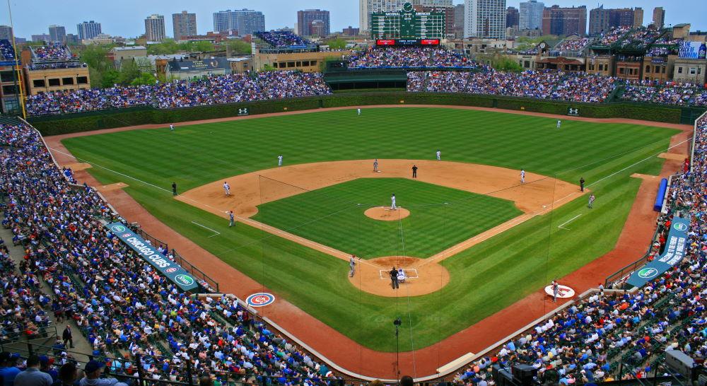 Фото: Бейсбольный стадион Ригли Филд