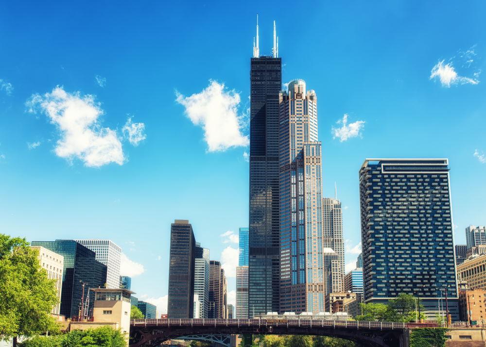 Фото: Уиллис тауэр в Чикаго