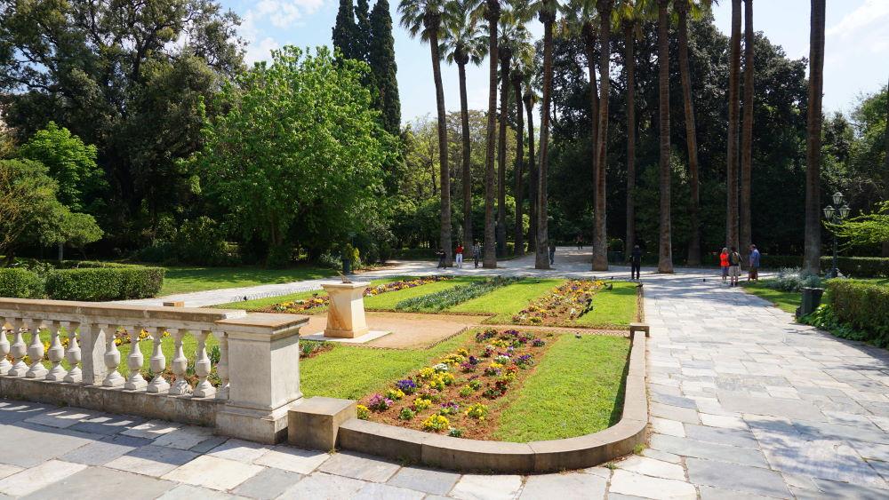 Фото: Национальный сад Афин