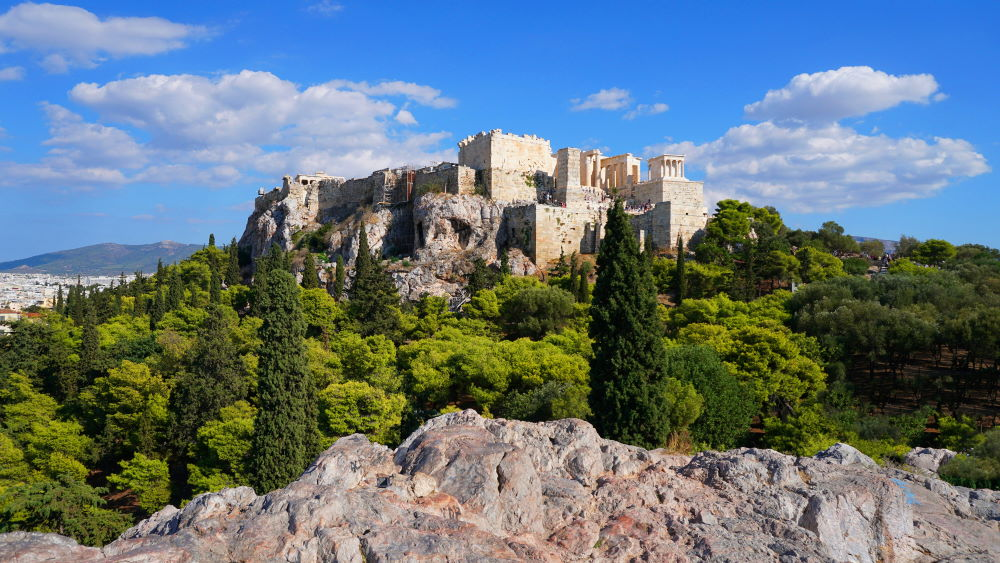 Фото: Ареопаг, Афины, Греция