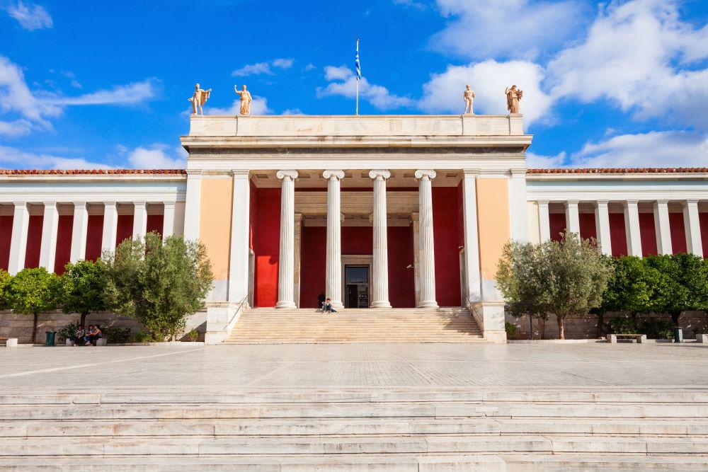 Фото: Национальный археологический музей в Афинах